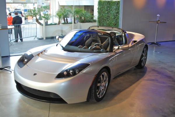 Elektromobil - Tesla Roadster