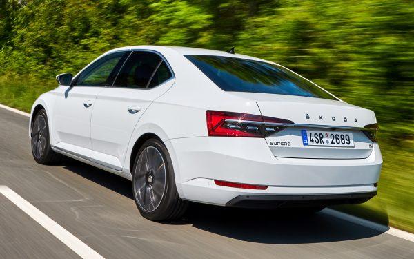 nová Škoda Superb iV