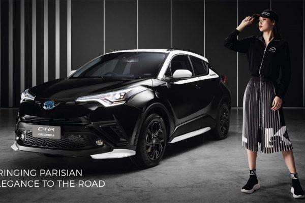 Toyota C-HR ako limitka à la Karl Lagerfeld